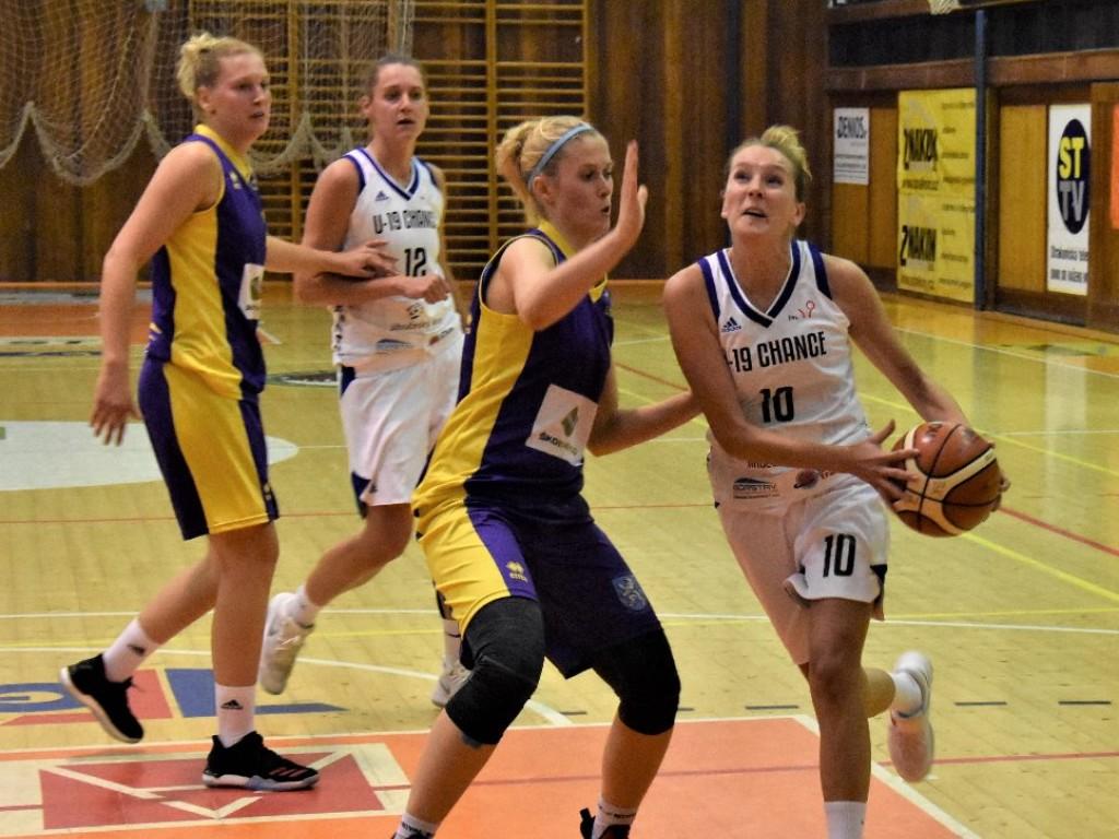 Basketbalistky U19 Chance čeká náročný týden